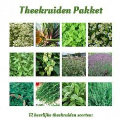 Theekruiden zadenpakket