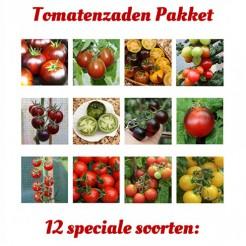 Tomatenzadenpakket 12 speciale soorten 2019