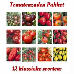 Tomatenzadenpakket 12 klassieke soorten